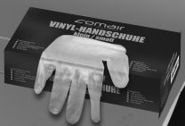 Comair Vinyl Handschuhe gepudert mittel