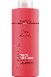 Wella INVIGO Color Brilliance Shampoo für kräftiges Haar 1000ml