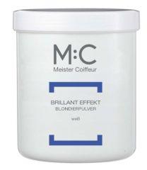 M:C Brillant Effect C weisses staubfreies Blondierpulver 100g