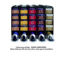 Color Vorratssystem Wella P5 für Haarfarbtuben / Farbregal 60ml Tuben