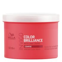 Wella INVIGO Brilliance Vibrant Color Mask für kräftiges Haar 500ml